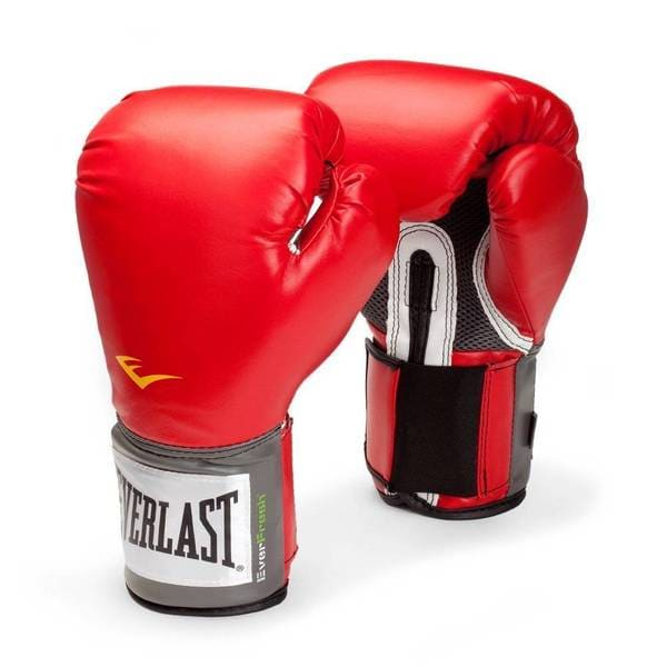 Everlast Pro Style 16-ounce Red Training Gloves