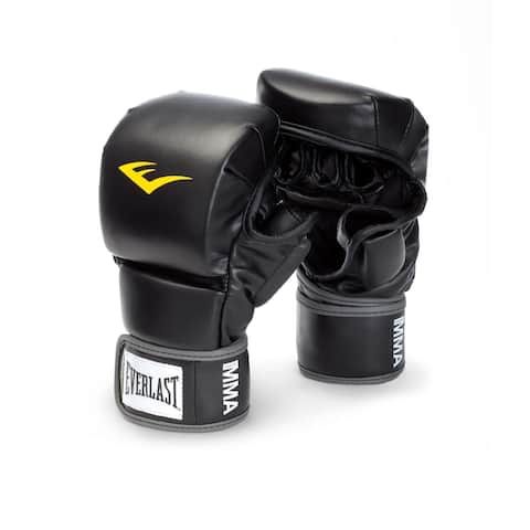 Everlast Black Striking Training Gloves