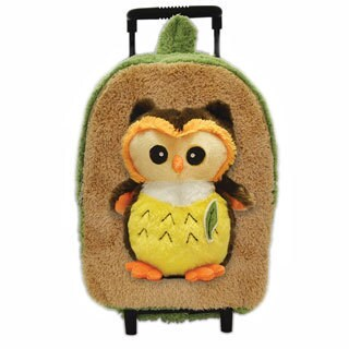 Best Buddy Bright Eyes Owl Rollerbag/ Backpack