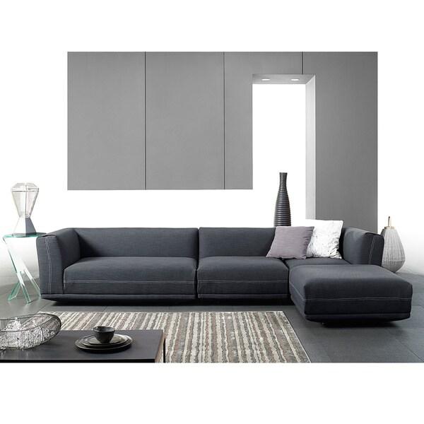 Sectional Sofa Grey Baxton Studio: Shop Baxton Studio Fairbanks Grey Upholstered Modern