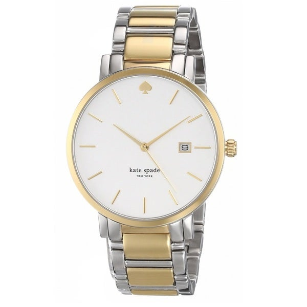3f3c39c79 Shop Kate Spade New York Women's 1YRU0108 'Gramercy Grand' Two Tone  Stainless Steel Watch - Free Shipping Today - Overstock - 9611244