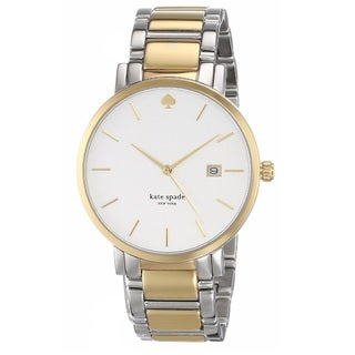 Kate Spade New York Women's 1YRU0108 'Gramercy Grand' Two Tone Stainless Steel Watch