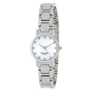 Kate Spade New York Women's 1YRU0146 'Gramercy Mini' Stainless Steel Watch