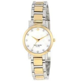 Kate Spade New York Women's 1YRU0147 'Gramercy Mini' Two Tone Stainless Steel Watch