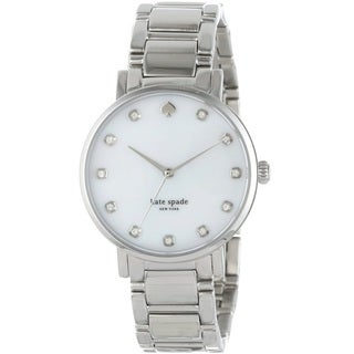 Kate Spade New York Women's 1YRU0006 'Gramercy' Silver Stainless Steel Watch