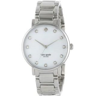 Kate Spade New York Women's 1YRU0006 'Gramercy' Silver Stainless Steel Watch
