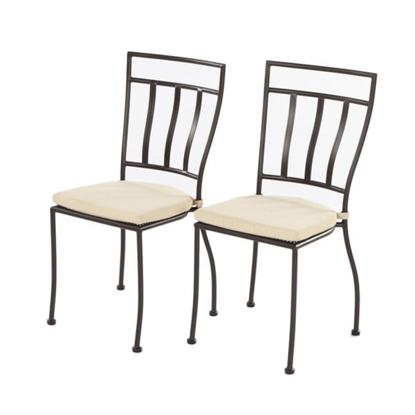 Delicieux Shop Semplice Bistro Chair With Cushion   Free Shipping Today   Overstock    9611276