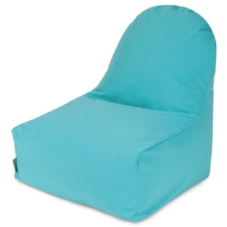 Majestic Home Goods Teal Kick-It Chair