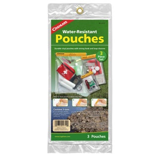 Coghlan's Waterproof Pouch 3-piece Set