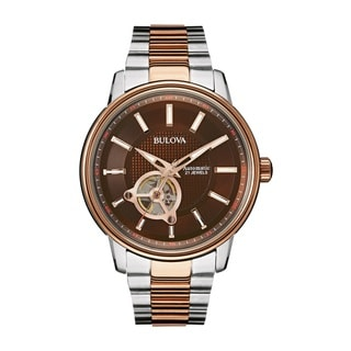 Bulova Men's 98A140 Stainless Steel Automatic Watch