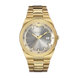 Bulova Men's 97B137 Stainless Steel Gold Tone Watch