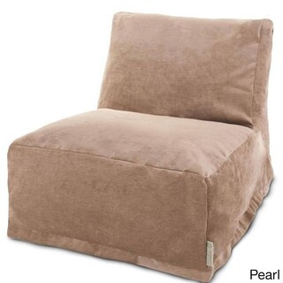 Majestic Home Goods Villa Pearl Bean Bag Chair Lounger