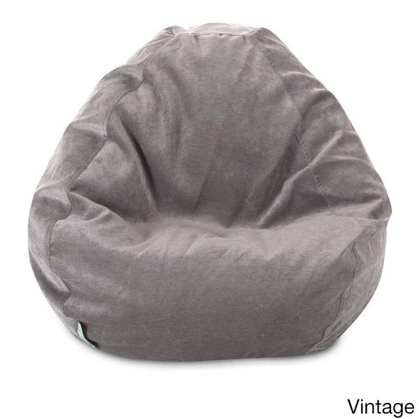 Majestic Home Goods Villa Collection Small Bean Bag Free