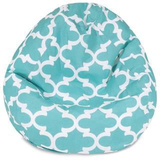 Majestic Home Goods Trellis Pattern Small Bean Bag