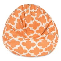 Majestic Home Goods Trellis Pattern Small Bean Bag