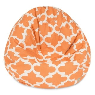 Majestic Home Goods Trellis-pattern Small Bean Bag