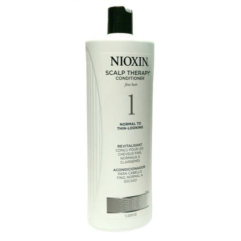 Nioxin System 1 Scalp Therapy 33.8-ounce Conditioner for Fine Hair