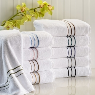 Miranda Haus Hotel Collection Luxurious 900 GSM Combed Cotton Bath Towel (Set of 2)