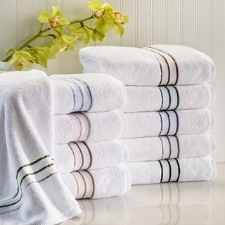 Superior Hotel Collection Luxurious 900 GSM 100-percent Premium Long-staple Combed Cotton 2-piece Bath Towel Set