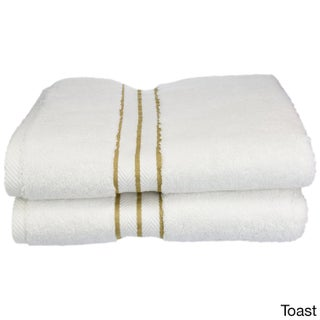 Superior Hotel Collection Luxurious 900 GSM Combed Cotton Bath Towel (Set of 2)