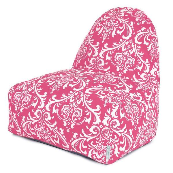 Majestic Home Goods Hot Pink French Quarter Kick-it Chair