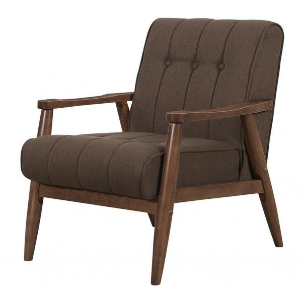 Durango Solid Wood Mid Century Accent Chair Free