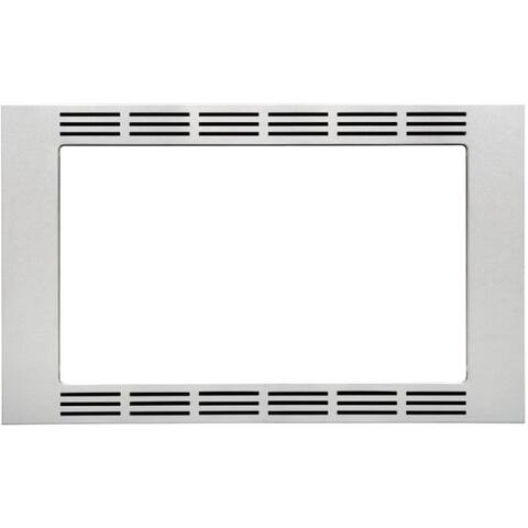 Panasonic 27-inch Trim Kit for Panasonic Microwaves - Silver