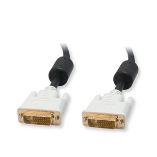 IOCrest 30-foot DVI Dual Link 24+1 Male-Male Cable Gold Plated Connector