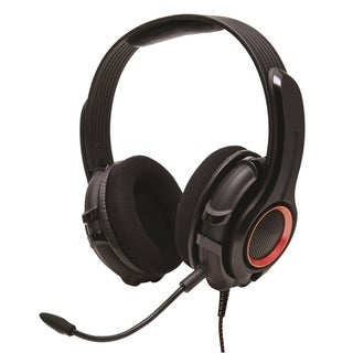 GamesterGear Cruiser PC200 2.0 Black Stereo Online Gaming Headset With Microphone
