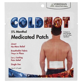 ColdHot 5-percent Menthol Medicated Patches (20 Count)