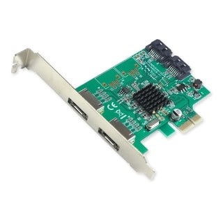 IOCrest PCI-E 1 Interface 4-PortSATA Controller Card With 88SE9215 Chipset