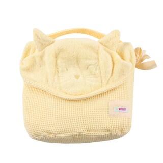Minene Cuddly Bath Towel for Baby, Banana Kitty Cat