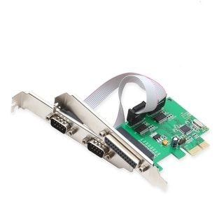 IOCrest PCI-E Combo Card With WCH382 Chipset and Low Profile Bracket