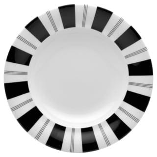Tuxedo Rim Soup Bowl 9.5 inch 12 ounce (set of six)