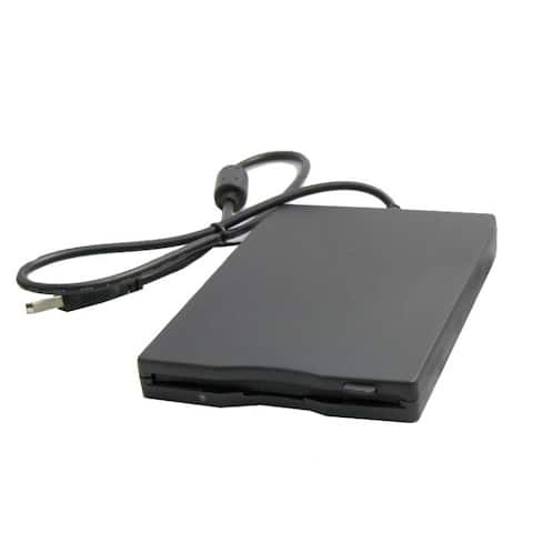 IOcrest USB External Floppy Disk Drive Support 1.44MB NEC Chipset