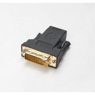 Syba HDMI 19 pin Female to DVI-D 24+1 pin Male Connector Gold Plated RoHs