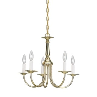 Sea Gull Traditional 5-light Heirloom Bronze Chandelier