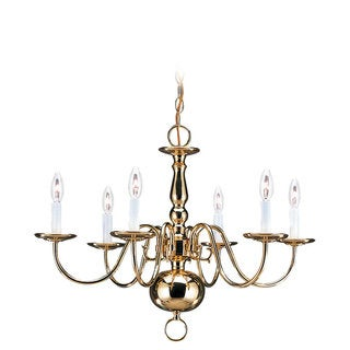 6-light Traditional Chandelier