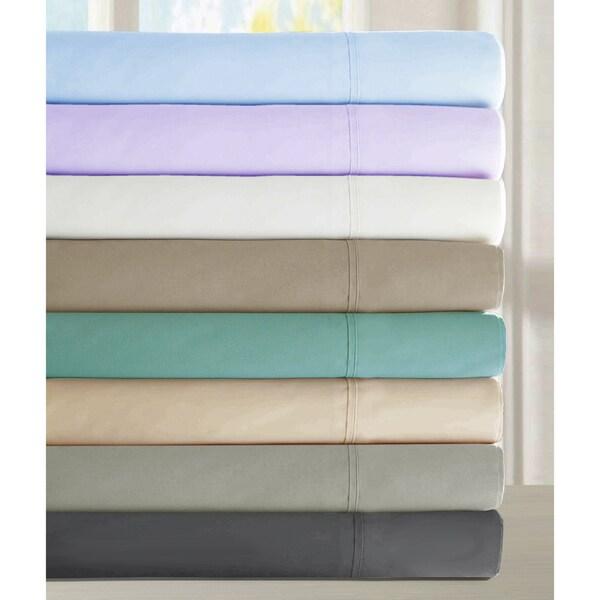 Luxury 300 Thread Count Cotton Deep Pocket Sheet Set (6 Pieces)