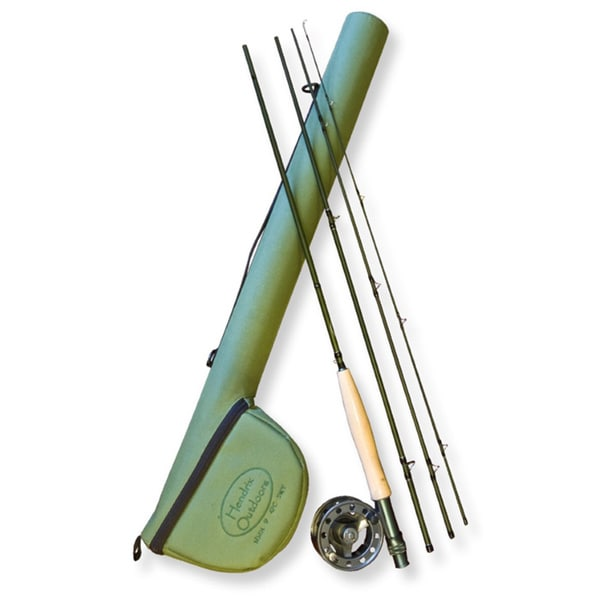 Adamsbuilt Flyfishing Combo 9-foot Rod and Reel with Case and 5 Weight Line