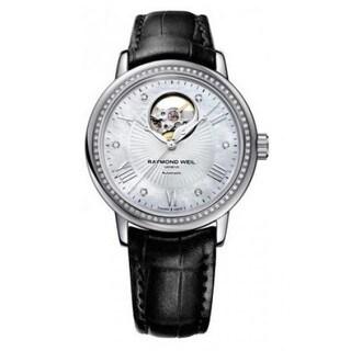 Raymond Weil Women's 2827-LS4-00966 Maestro Leather Watch