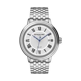 Raymond Weil Men's 2838-ST-00659 Maestro Silver Dial Watch