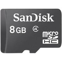 Sandisk 8GB Micro SD Memory Card