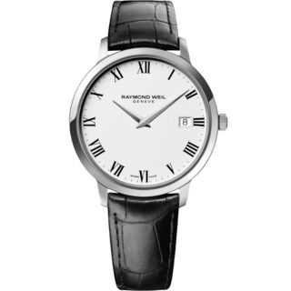 Raymond Weil Women's 5588-STC-00300 Toccata Leather Strap Watch