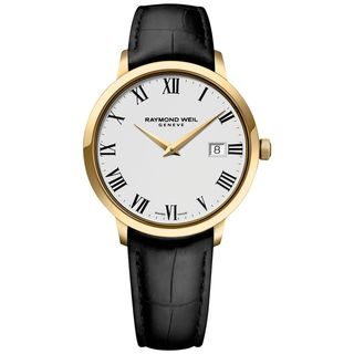 Link to Raymond Weil Men's  Toccata Stainless Steel and Gold PVD Watch Similar Items in Men's Watches