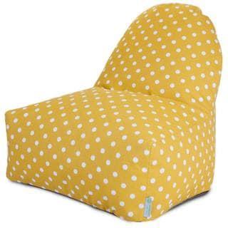 Majestic Home Goods Outdoor Indoor Ikat Dot Kick-It Chair