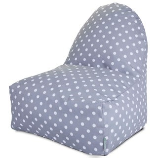 Majestic Home Goods Outdoor Indoor Ikat Dot Kick-It Chair