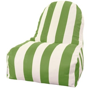 Majestic Home Goods Outdoor Indoor Vertical Stripe Kick-It Chair