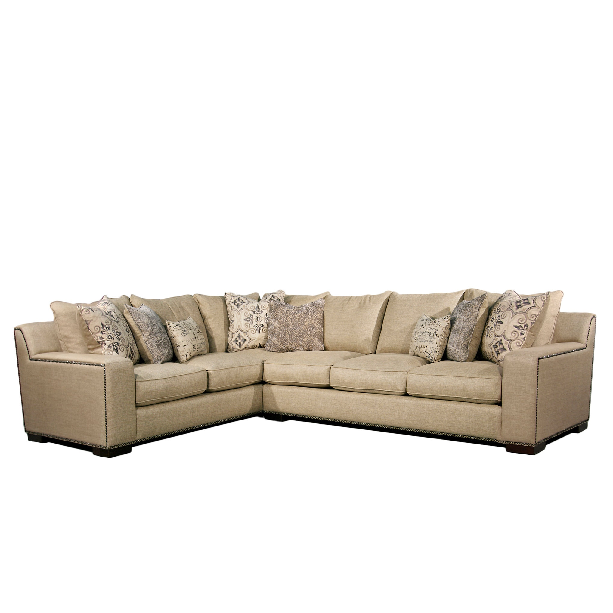 Pleasing Fairmont Designs Made To Order Adele Two Piece Sectional Set Ncnpc Chair Design For Home Ncnpcorg