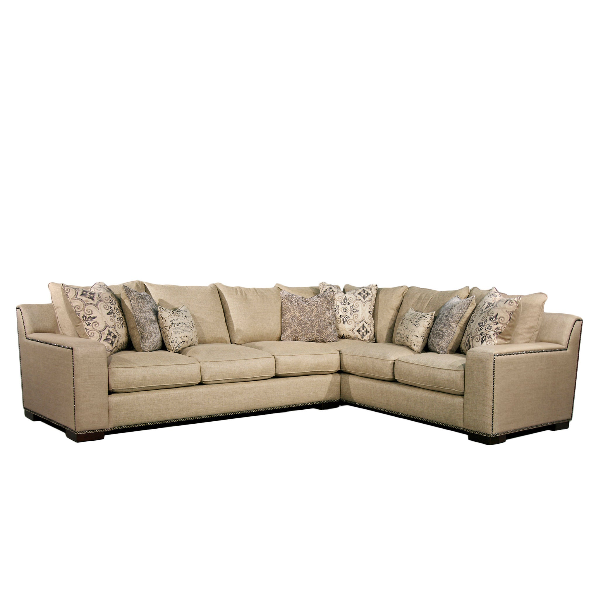 Super Fairmont Designs Made To Order Adele Two Piece Sectional Set Ncnpc Chair Design For Home Ncnpcorg